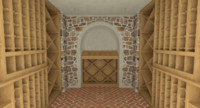 3ds max wine cellar