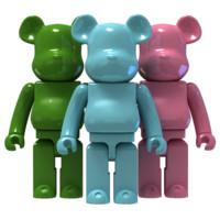 bear brick 3d model