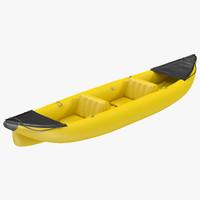 3ds kayak 3 yellow