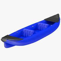 max kayak 3 blue