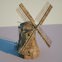 windmill wind 3d 3ds