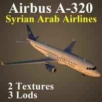3d model airbus syr