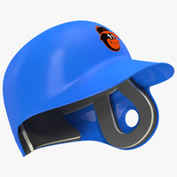 3ds max batting helmet