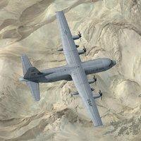 hercules c-130j 3d model