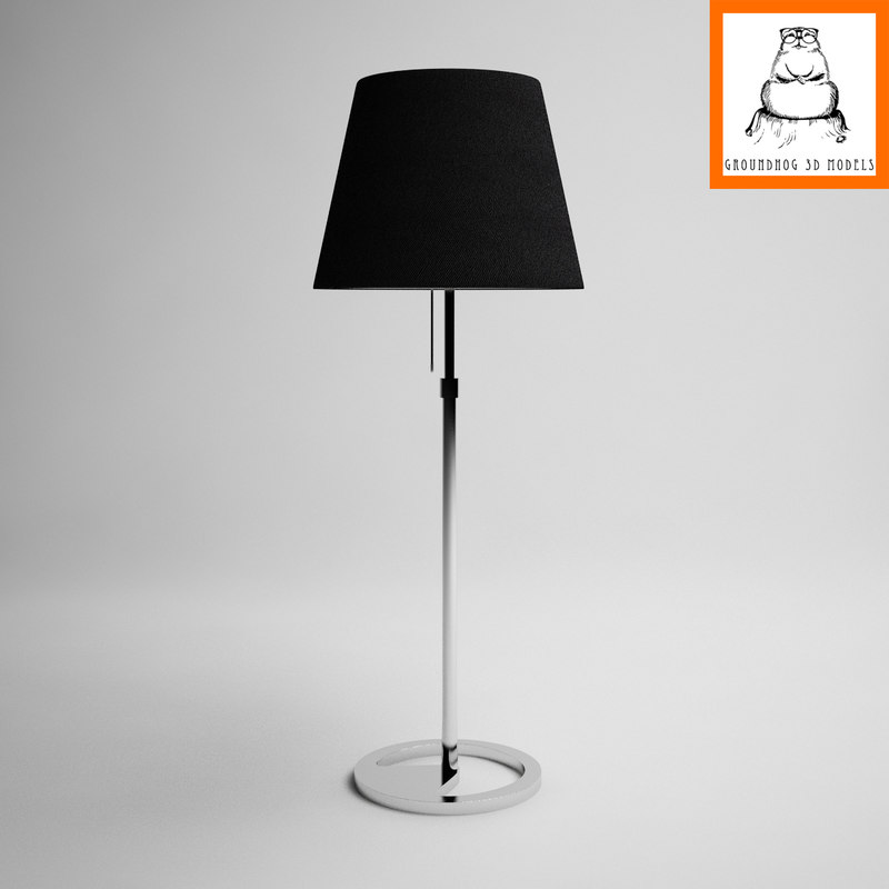 ikea nyfors lamp lights 3d model