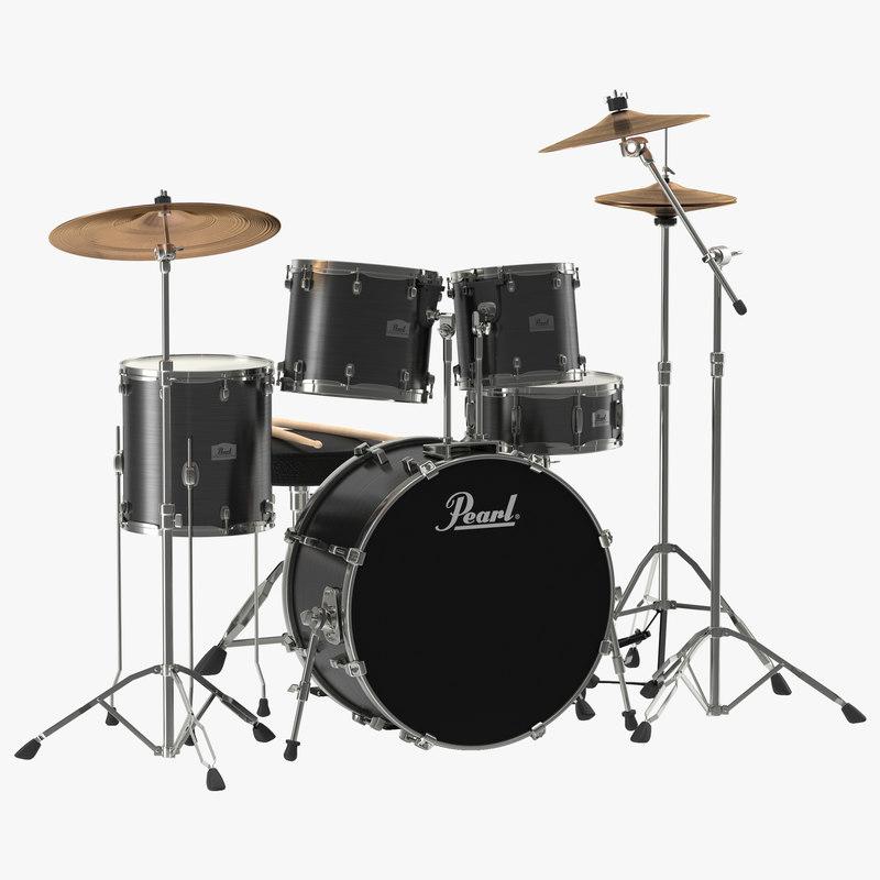 Drum Kit 3d model 00.jpg