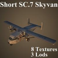 3d model short sc 7