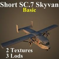 short sc 7 basic 3d max