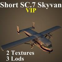3d model short sc 7 vip