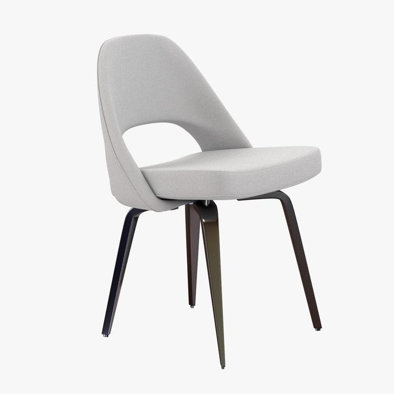 chair design saarinen executive 3d max