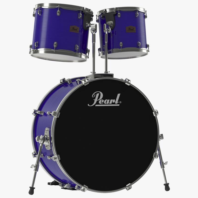 3d model of Bass Drum 00.jpg