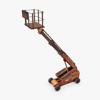 cherry picker 3d max