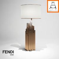 Groundhog 3D Models | Fendi Casa Ephedra Lamp