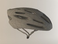 bike helmet 2 3d model