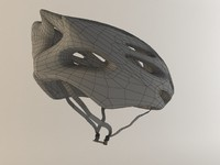 bike helmet 2 3d obj