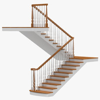 3d stairs 3