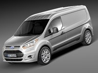 Ford Transit Connect Cargo 2014 Long