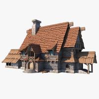 medieval house 3D models