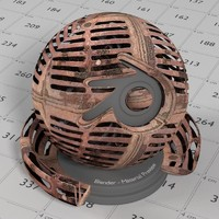 Cycles Material Metal Grate 8