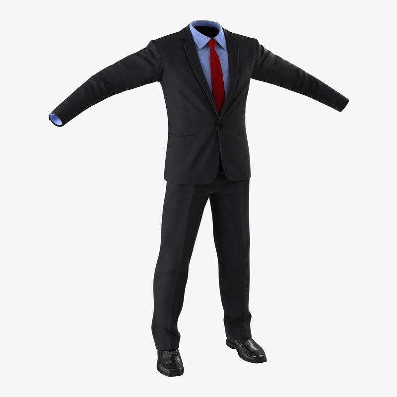 3d model of Business Suit 00.jpg