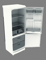 free 3ds model fridge kitchen