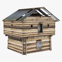 max russian hut