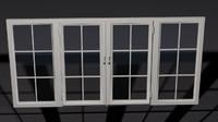 interior design window 3d model