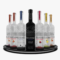 belvedere vodka set max