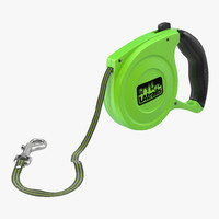 obj retractable dog leash latrails