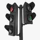 stop light 3D models
