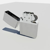 lighter wick 3d model