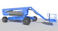 aerial work platform genie 3d model