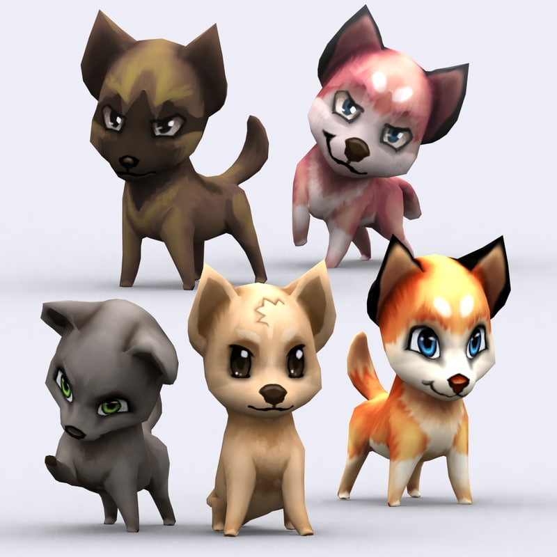 Chibii-animals-pets-pig-cat-cow-dog-pony-goat-sheep-puppy-chicken-duck-cartoon-3d-animated-lowpoly-characters_02.jpg