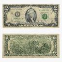 two dollar bill 3D models