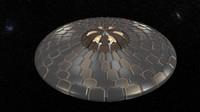 ufo modelling armor 3d max