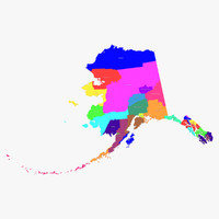alaska counties 3d 3ds