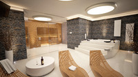 maya wellness interior