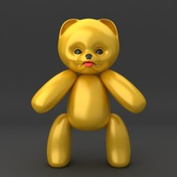 3ds max teddy bear soft toy