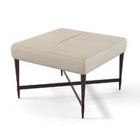 3d model madison square stool