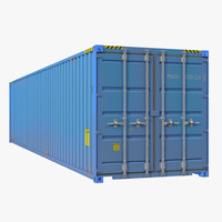 3d max 40 ft iso container
