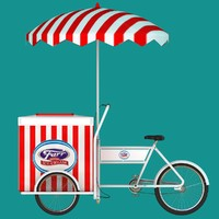 maya ice cream cart