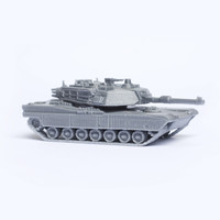 3ds max m1 abrams tank kit