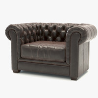 mayson chesterfield chair 3d max