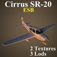 3d model cirrus esb
