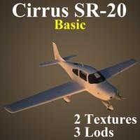cirrus basic 3d max