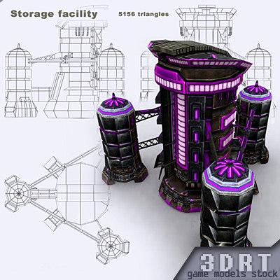 3DRT - Storage Facility