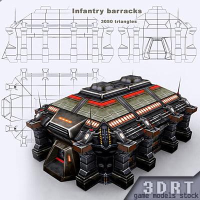 3DRT - Infantry Barracks