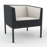 max cube armchair