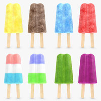 popsicle v3 set 3d 3ds