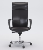 3d model office chair